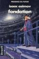Couverture Fondation, tome 3 : Le Cycle de Fondation, partie 1 : Fondation Editions Denoël (Présence du futur) 1994