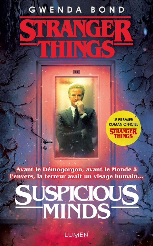 Couverture Stranger Things : Suspicious Minds