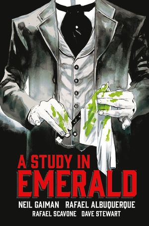 Couverture Neil Gaiman's A study in emerald