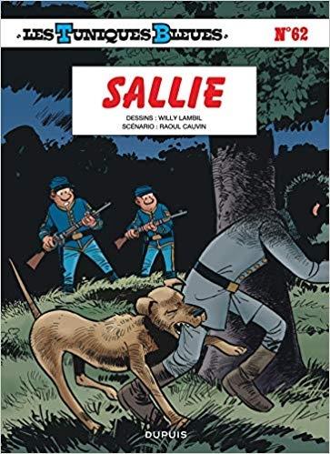 Couverture Les Tuniques Bleues, tome 62 : Sallie