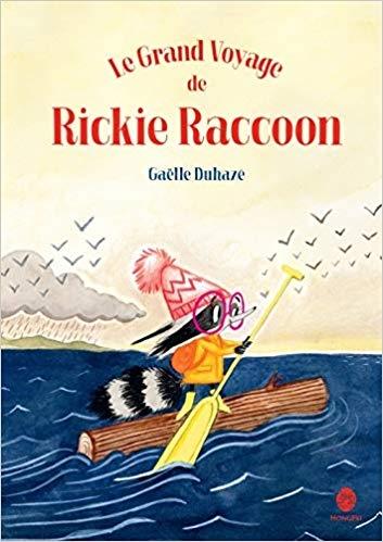 Couverture Le Grand Voyage de Rickie Raccoon