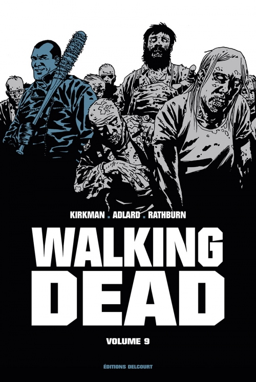 Couverture Walking dead, prestige, tome 9