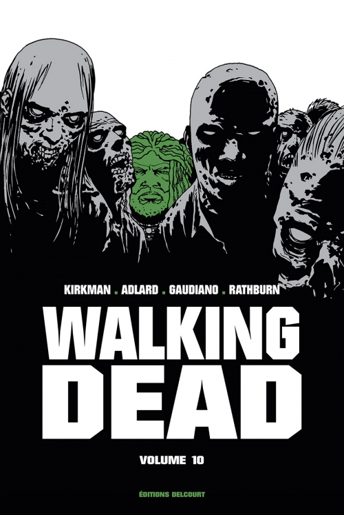 Couverture Walking dead, prestige, tome 10