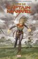 Couverture La vie de Captain Marvel Editions Panini 2019