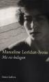 Couverture Ma vie balagan Editions Robert Laffont 2008
