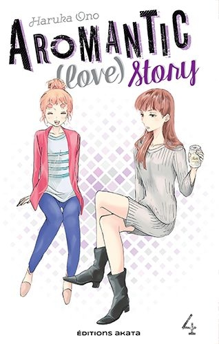 Couverture Aromantic (love) story, tome 4