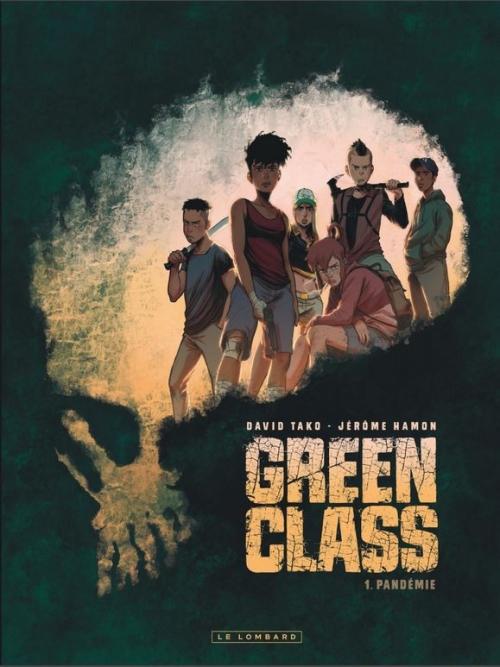 Couverture Green Class, tome 1 : Pandémie