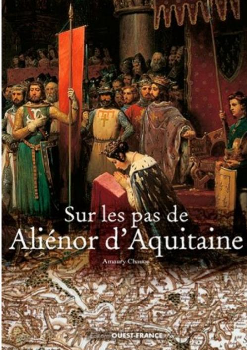 Couverture Sur les pas d'Aliénor d'Aquitaine