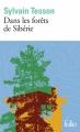 Couverture Dans les forêts de Sibérie Editions Folio  2019