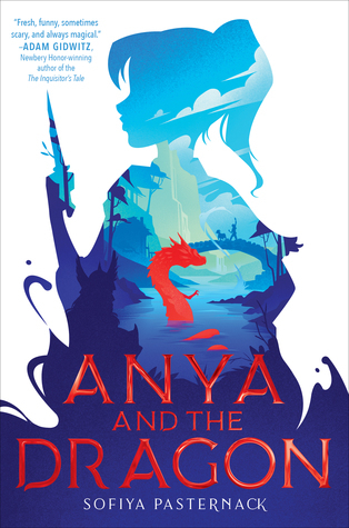 Couverture Anya and the Dragon