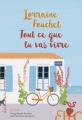 Couverture Tout ce que tu vas vivre Editions Héloïse d'Ormesson 2019