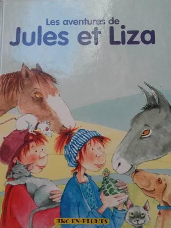 Couverture Les aventures de Jules et Liza