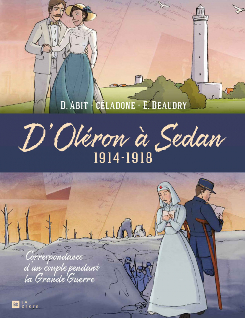 Couverture D'Oléron à Sedan : 1914-1918