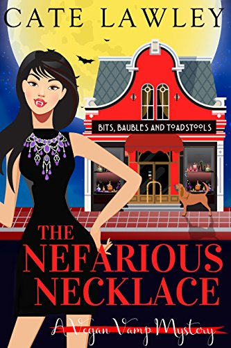 Couverture Vegan Vamp Mysteries, book 4: The Nefarious Necklace