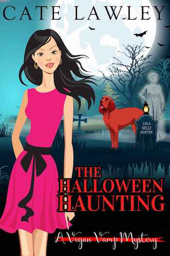 Couverture Vegan Vamp Mysteries, book 5: The Halloween Haunting