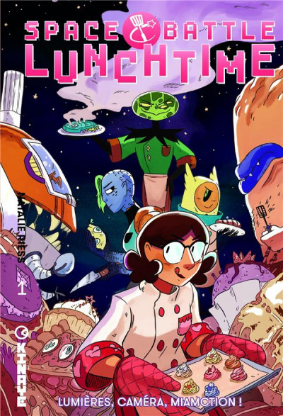 Couverture Space Battle Lunchtime, tome 1