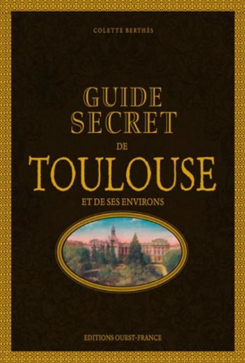 Couverture Guide secret de Toulouse et de ses environs