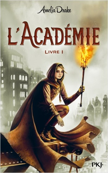 Couverture L'académie, tome 1