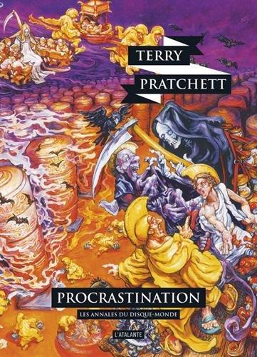 Couverture Les Annales du Disque-Monde, tome 27 : Procrastination