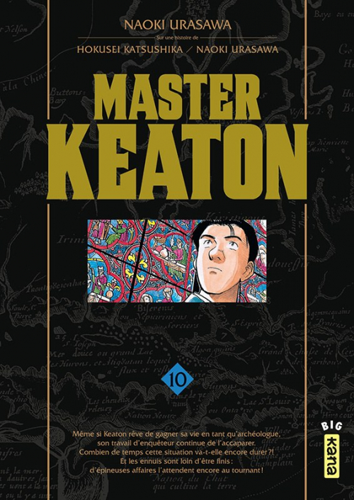 Couverture Master Keaton, tome 10