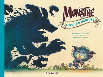 Couverture Monstre a peur des monstres