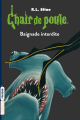 Couverture Terreur dans le récif / Baignade interdite Editions Bayard (Frisson) 2017