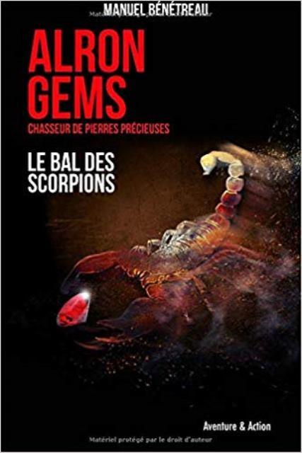 Couverture Alron Gems, tome 1 : Le bal des scorpions
