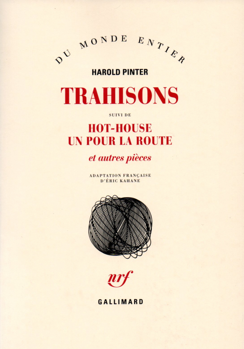 Couverture Trahisons