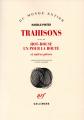 Couverture Trahisons Editions Gallimard  (Du monde entier) 2017
