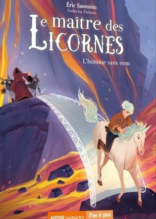 Couverture Le maître des licornes, tome 3 : L'homme sans nom