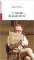 Couverture Une heure de tranquillité Editions L'Avant-scène théâtre (Quatre-vents) 2016