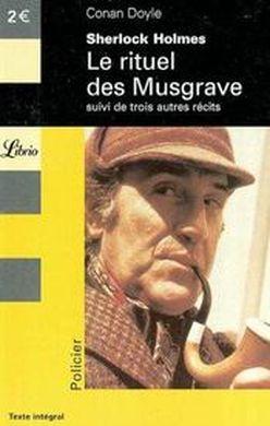 Couverture Sherlock Holmes : Le rituel des Musgraves suivi de trois autres récits