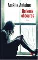 Couverture Raisons obscures Editions XO 2019