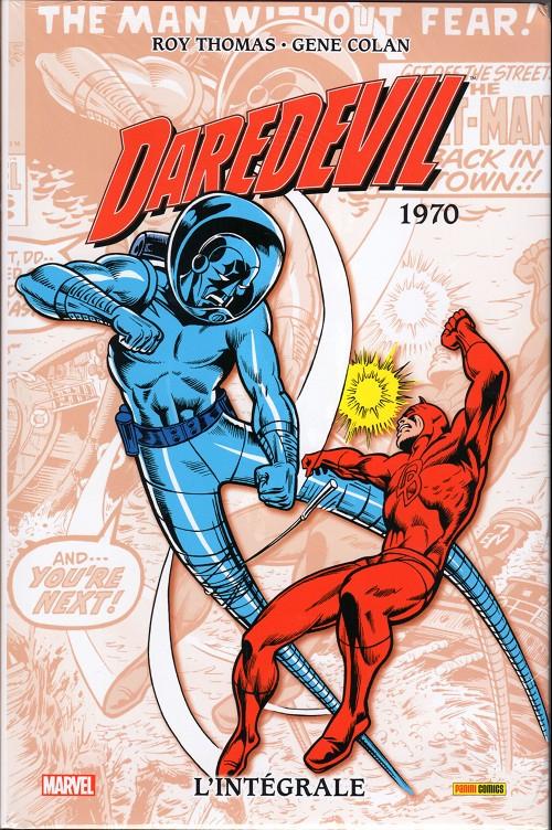 Couverture Daredevil, intégrale, tome 06 : 1970
