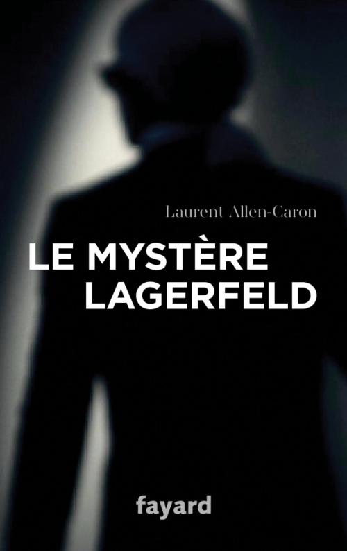 Couverture Le Mystère Lagerfeld