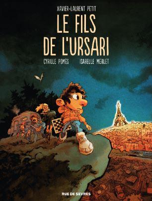 Couverture Le fils de l'ursari (BD)