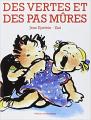 Couverture Des vertes et des pas mûres Editions Universitaires 1999
