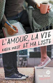Couverture L'amour, la vie et ma liste Editions Hugo & cie (New way) 2019