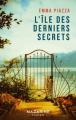 Couverture L'île des derniers secrets Editions Mazarine 2019