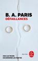 Couverture Défaillances Editions Le Livre de Poche (Thriller) 2019