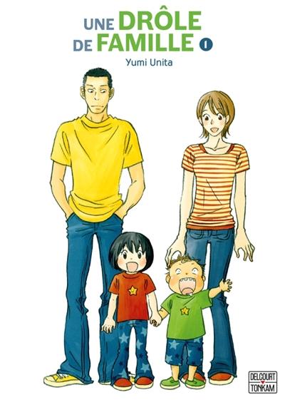 Couverture Une drôle de famille, tome 1