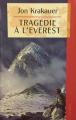 Couverture Tragédie à l'Everest Editions France Loisirs 1998