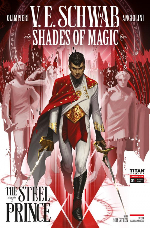 Couverture Shades of Magic: The Steel Prince, book 1, part 1