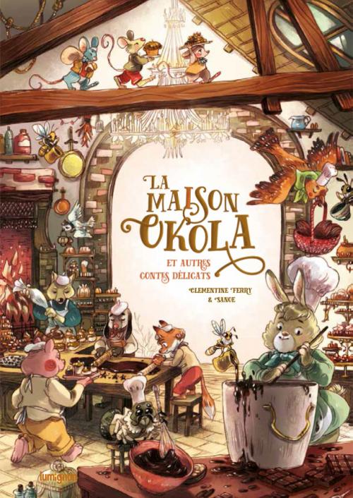 Couverture La maison Okola et autres contes délicats