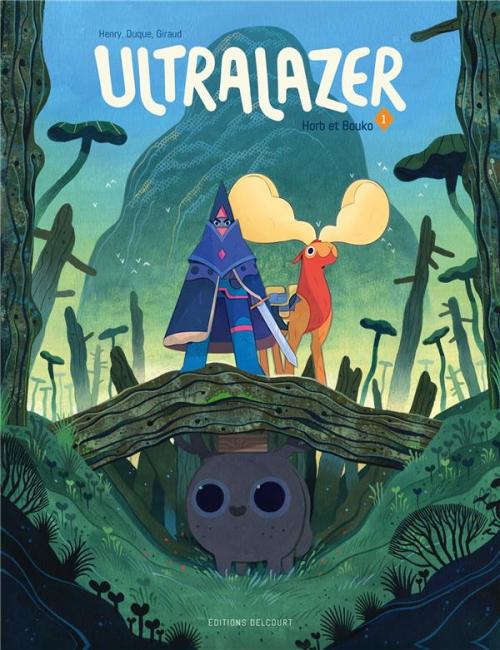 Couverture Ultralazer, tome 1 : Horb et Bouko