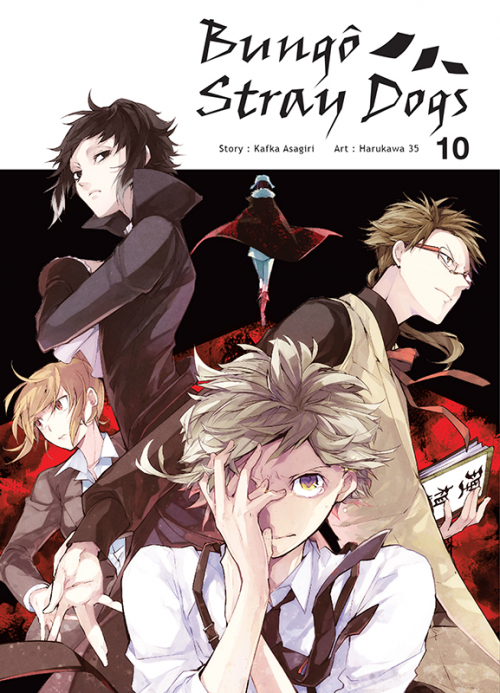 Couverture Bungô stray dogs, tome 10