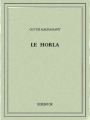 Couverture Le Horla Editions Bibebook 2016