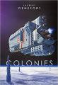 Couverture Colonies Editions Le Bélial' 2019