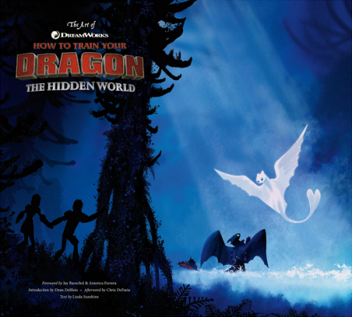 Couverture The Art of How to Train your Dragon : The Hidden World