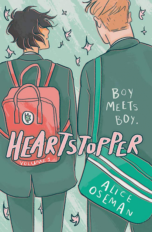Couverture Heartstopper, book 1
